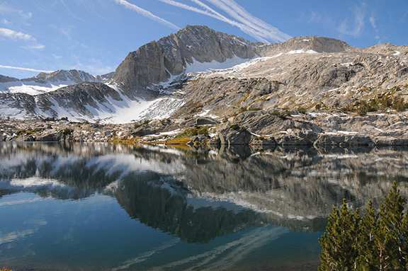 Mt. Conness from 20 Lakes Basin