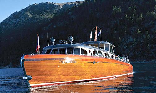 thunderbird yacht Lake Tahoe