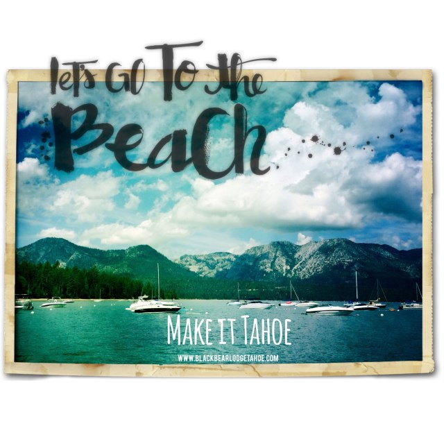 Boating Tahoe