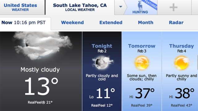 weather_blackbearlodgetahoe
